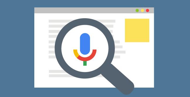 wyszukiwanie głosowe - voice search